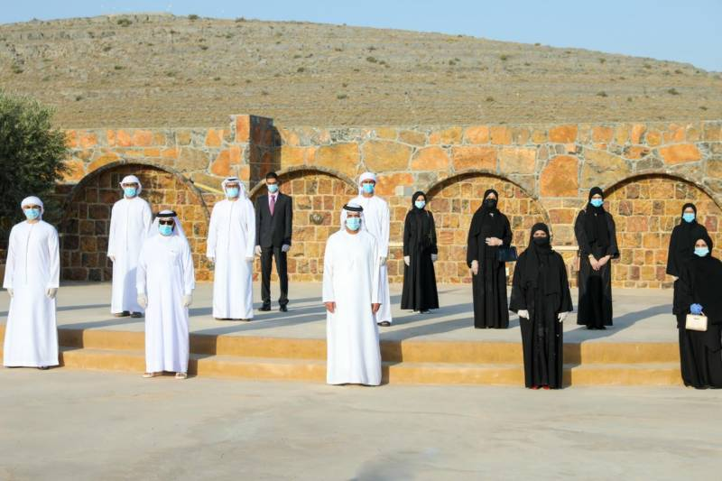 Ruler of Ras Al Khaimah to Top-Performing High-School Students: 'You Are the Bright Minds We Count on to Drive Our Cultural Advancement'