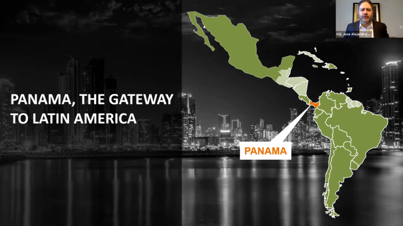 UAE businesses explore Panama's competitive advantages