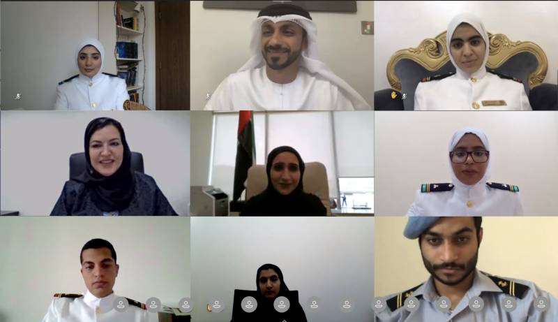 """The Arab Academy for Science, Technology and Maritime Transport in Sharjah participates in """"UAE Youth Engagement for Better Tomorrow"""""""