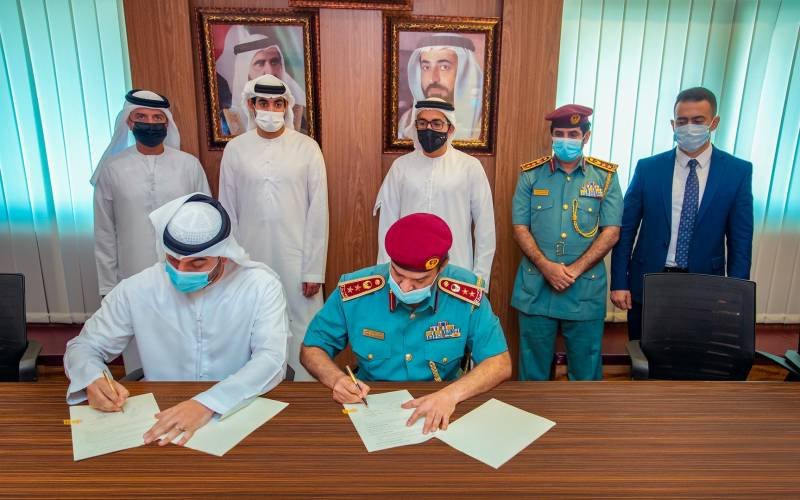 Sharjah Civil Defence signs agreement with Sahab Smart Solutions to develop advanced digital services platform