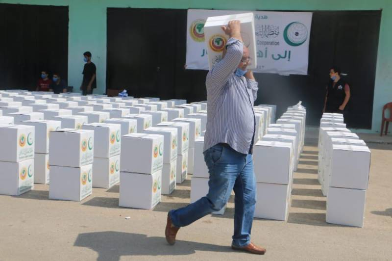 OIC Delivers Emergency Aid to the Lebanese People