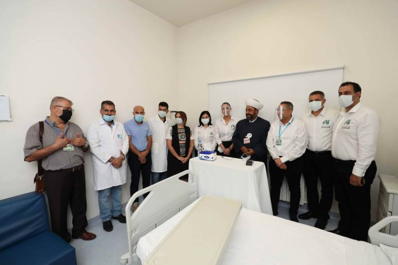 Personal initiative of the Emirati businessman Khalaf Al Habtoor in support of the Lebanese health sector