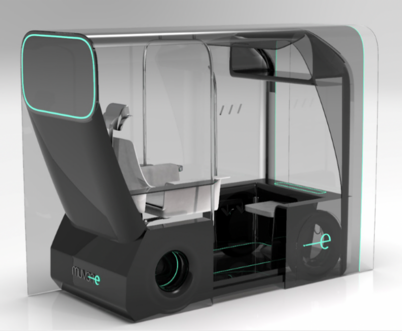 Self-Driving Taxi Concept Wins 'New Designers' Ford Award