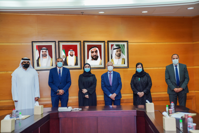 The Arab Academy for Science, Technology and Maritime Transport in Sharjah initiates a collaboration with the Federal Transport Authority - Land & Maritime