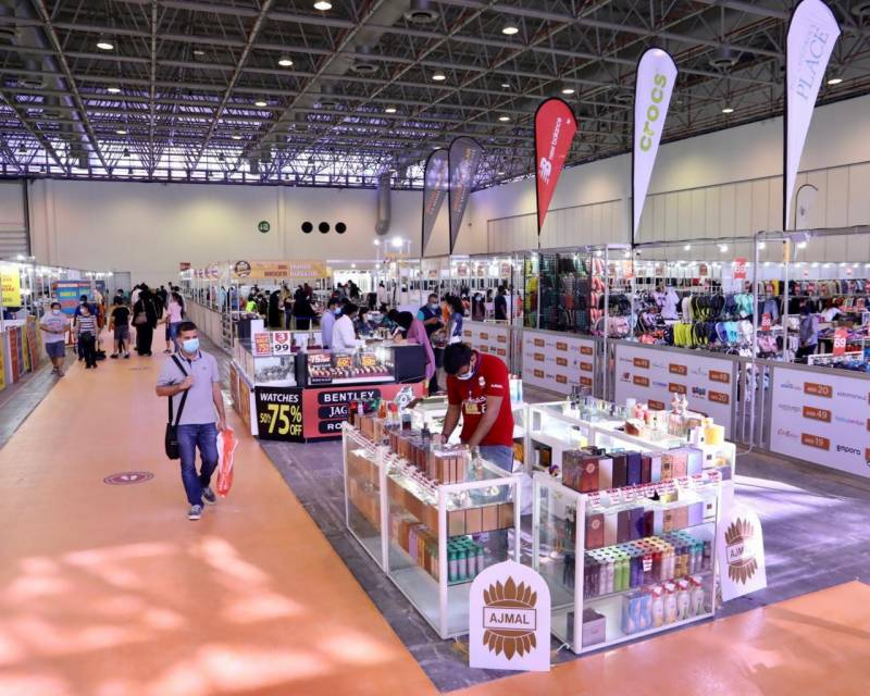 Sharjah's Fashion and Electronic Products Exhibition attracts more than 9,000 visitors in four days only