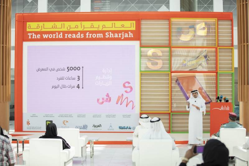 1,024 publishers and 60 cultural figures at 39th Sharjah International Book Fair themed 'The World Reads from Sharjah'
