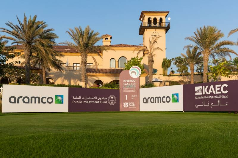 ARAMCO CONFIRMED AS TITLE SPONSOR OF SAUDI ARABIA'S FIRST FEMALE GOLF TOURNAMENT