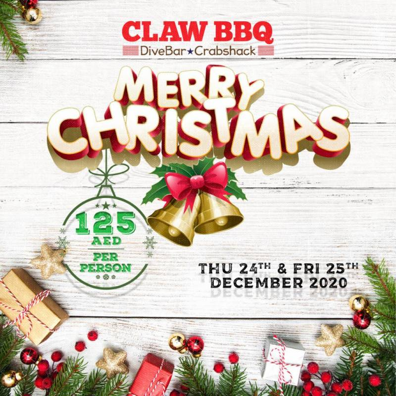 Get Ready for a CLAW some Festive Season at Dubai's Favorite Downtown Hangout: CLAW BBQ