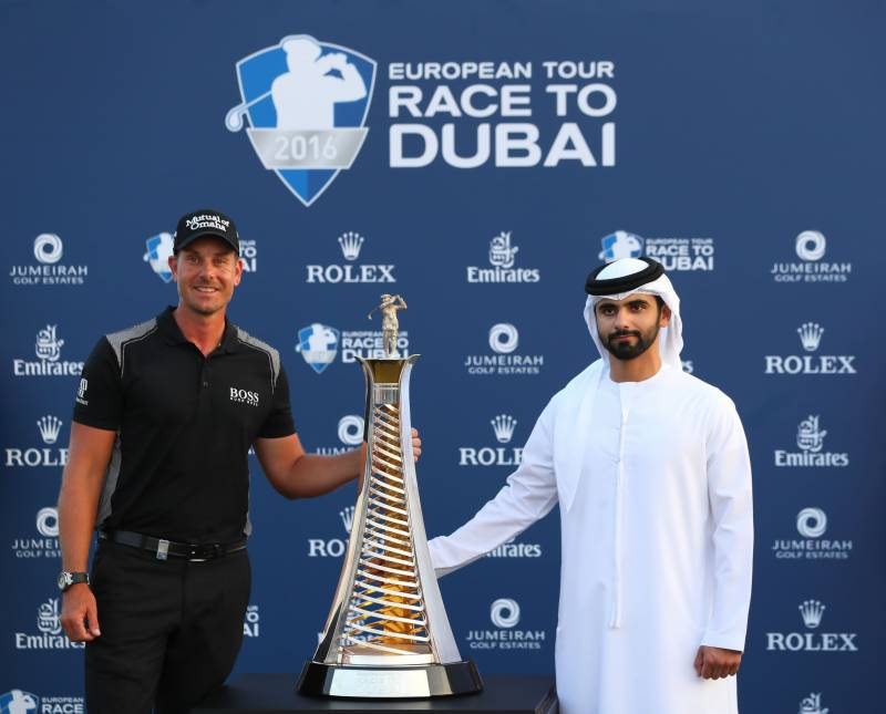 Sheikh Mansoor becomes Patron of the DP World Tour Championship, Dubai