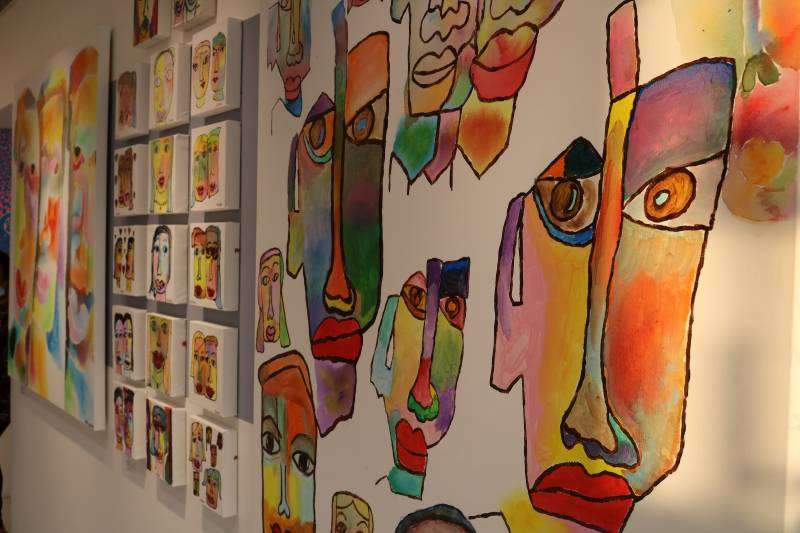 Mawaheb From Beautiful People holds exhibition for its artists at The Workshop Dubai