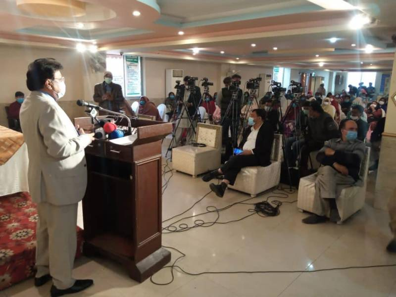 MINISTER IJAZ ALAM ATTENDS SEMINAR TO STOP VIOLENCE AGAINST WOMEN