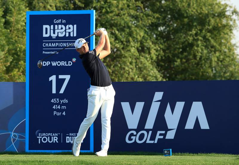 Sullivan continues to burn up the Fire course in Dubai