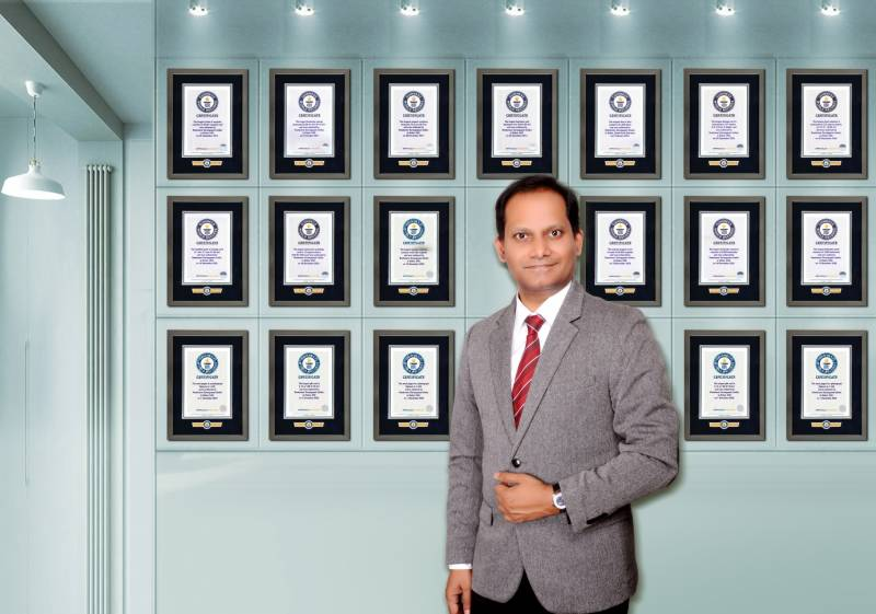 UAE resident Ramkumar Sarangapani becomes the highest Guinness World Records Holder in GCC and India