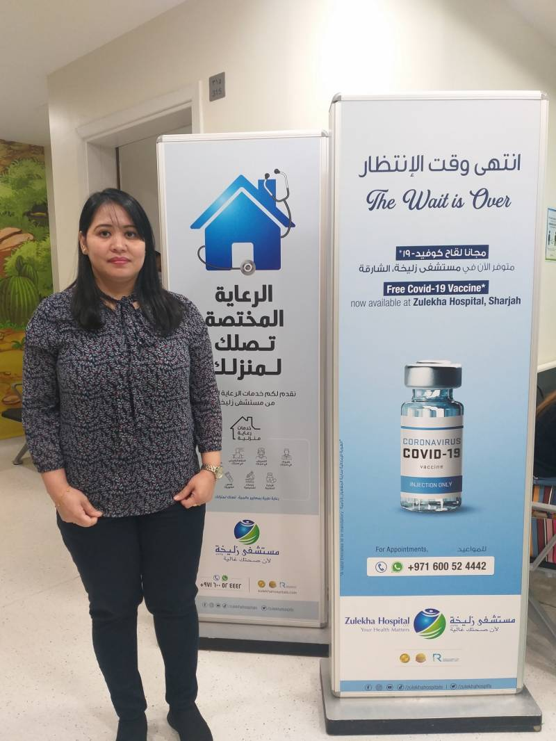 COVID-19 Vaccination is now available at Zulekha Hospital Sharjah free of charge