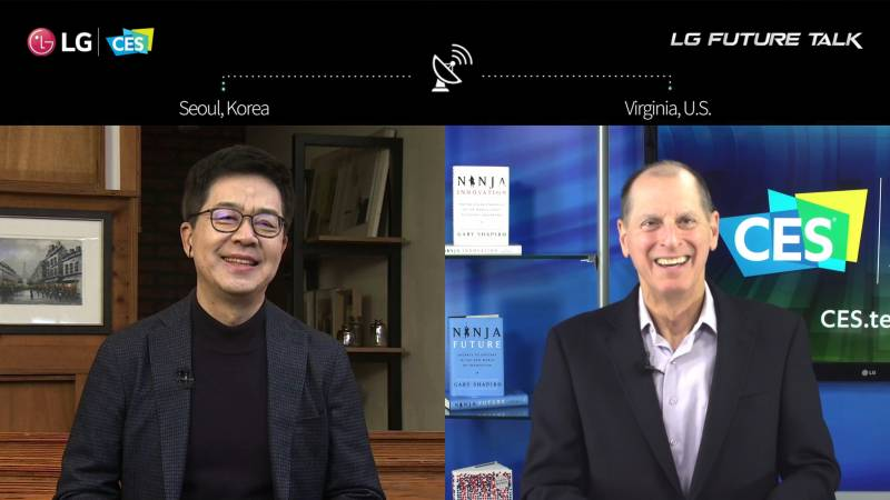 """LG HOSTS TECH LEADERS IN VIRTUAL """"FUTURE TALK"""" ON THE VALUE OF OPEN INNOVATION IN A NEW ERA"""