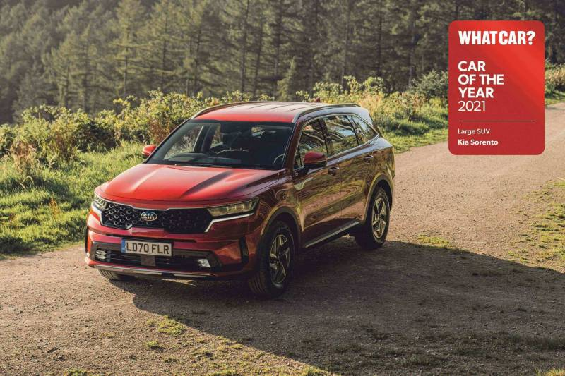 All-new Sorento wins 'Large SUV of the year' at 2021 What Car? Car Of The Year awards