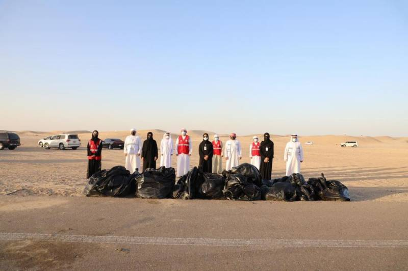 Tadweer Carries Out Campsite Clean Up Awareness Drive in Collaboration with Abu Dhabi City Municipality and Abu Dhabi Police
