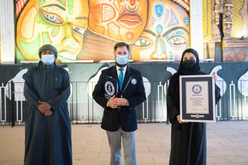 Global Village claims 15th Guinness World Records™ title of Season 25 in association with Africa Pavilion
