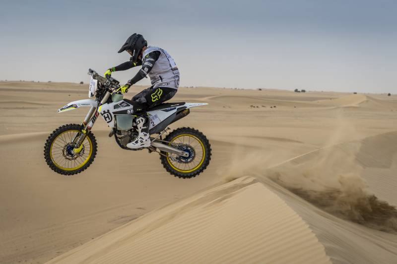 SAUDI STAR AL RAJHI POWERS HIS WAY INTO BIG DUBAI BAJA LEAD AS MARE CLOSES IN ON ANOTHER BIKES VICTORY