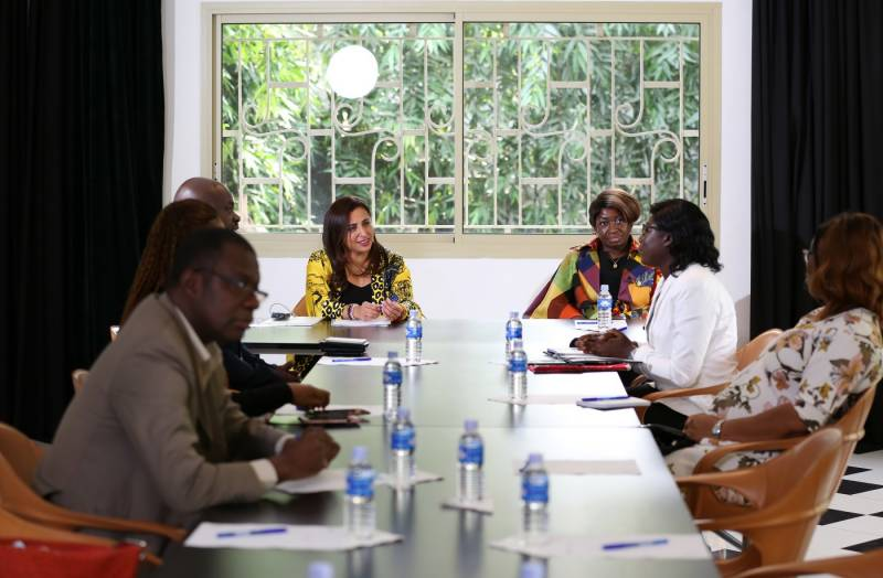 International Publishers Association President in Ivory Coast for fact-finding and solidarity visit