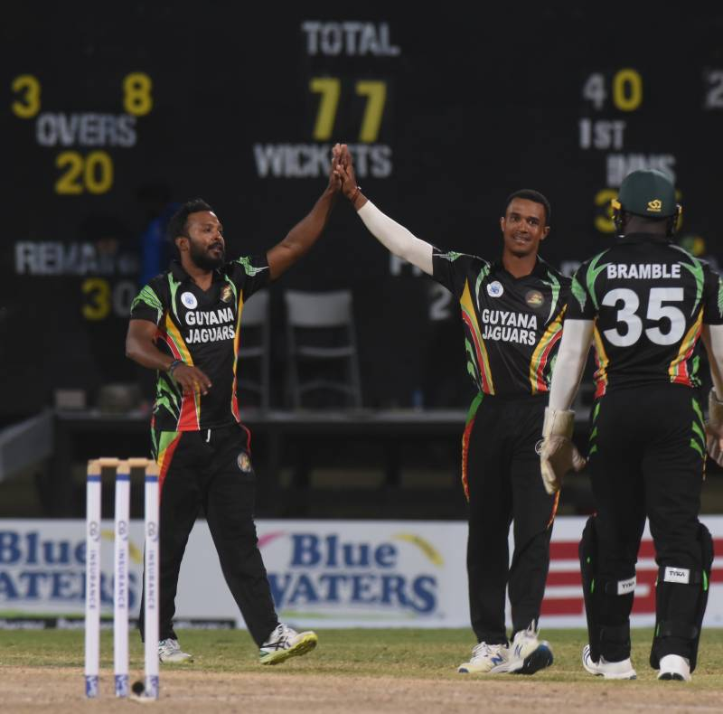 Hetmyer pulls Guyana Jaguars out of the mire then puts on a show