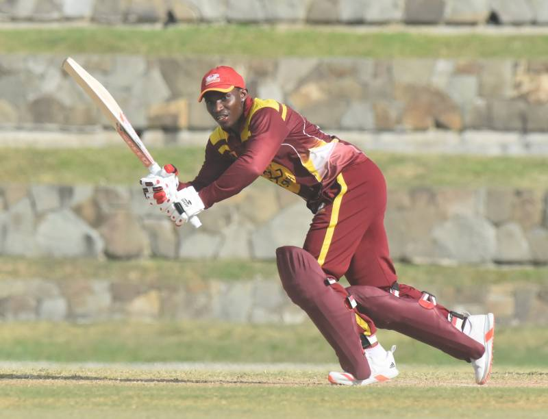 Thomas hits top-class ton as Leewards end on a high note
