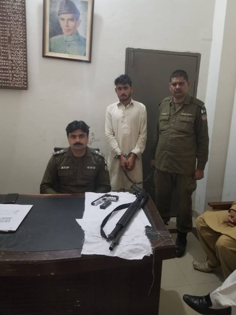 Kasur police continue operations against anti-social and criminal elements.