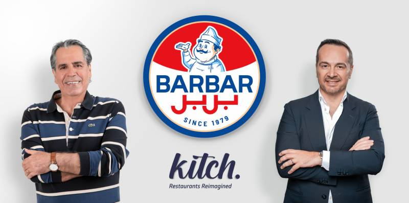 Kitch enters into a strategic partnership with Lebanon's iconic restaurant Barbar to expand operations to key cities in the GCC