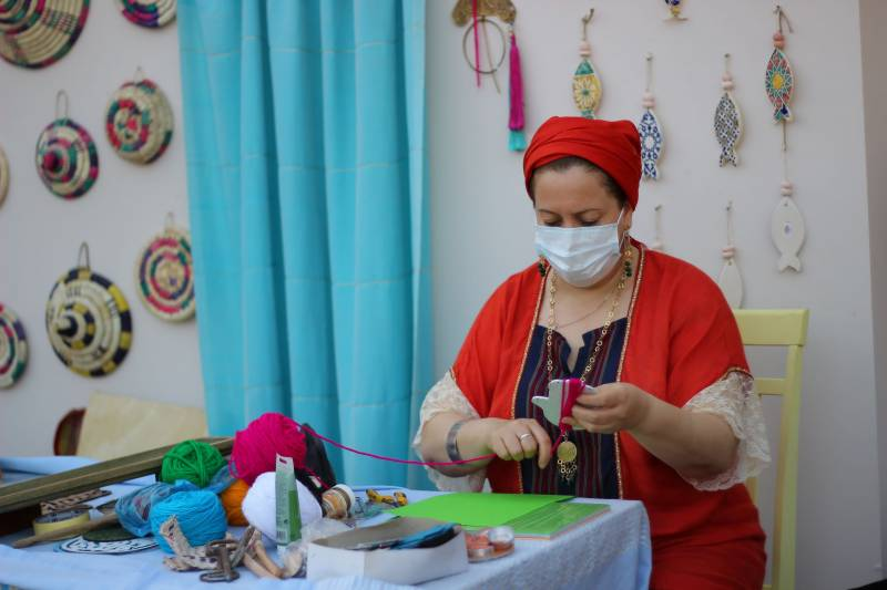 Tunisia's DIY drum-making stand a big visitor attraction at Sharjah Heritage Days