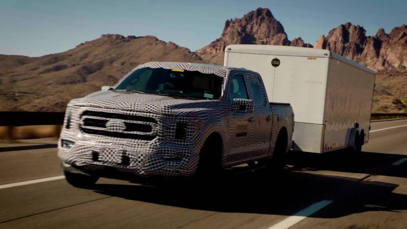Tortured and Tested, 3.5-Litre PowerBoost Full Hybrid Powertrain in the All-New 2021 F-150 Is Built Ford Tough For the Middle East