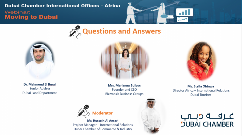 African companies and investors explore key advantages of doing business in Dubai