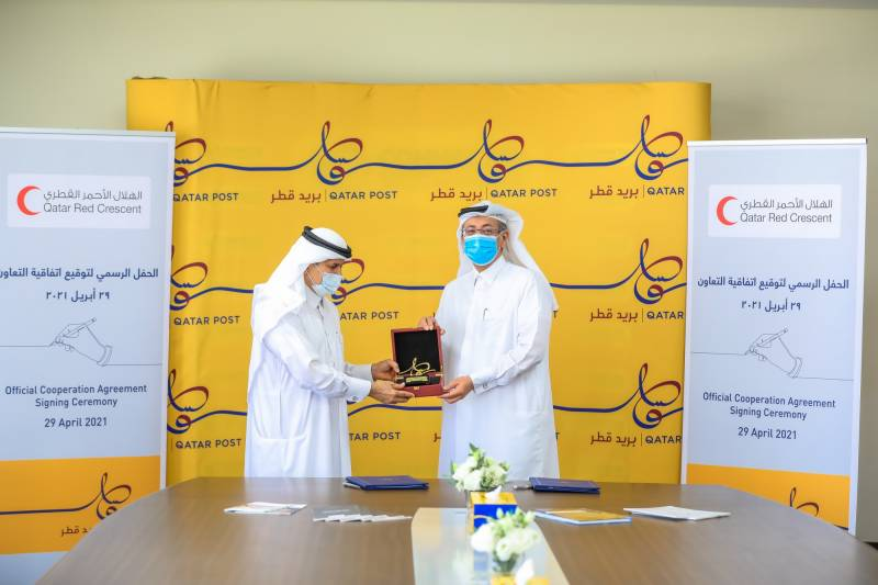 QRCS, Qatar Post sign pact to cooperate for social good