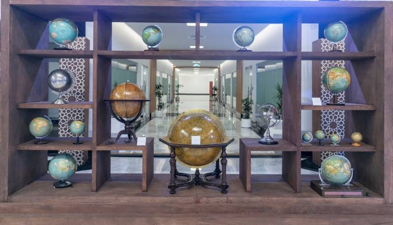 SBA's 'Tales from the East' exhibition honours globe-making traditions of a bygone era