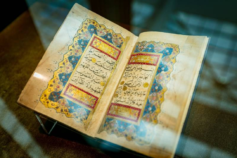 'Tales from the East' honours calligraphers of the ancient Islamic world and their stunning interpretations of the Holy Quran