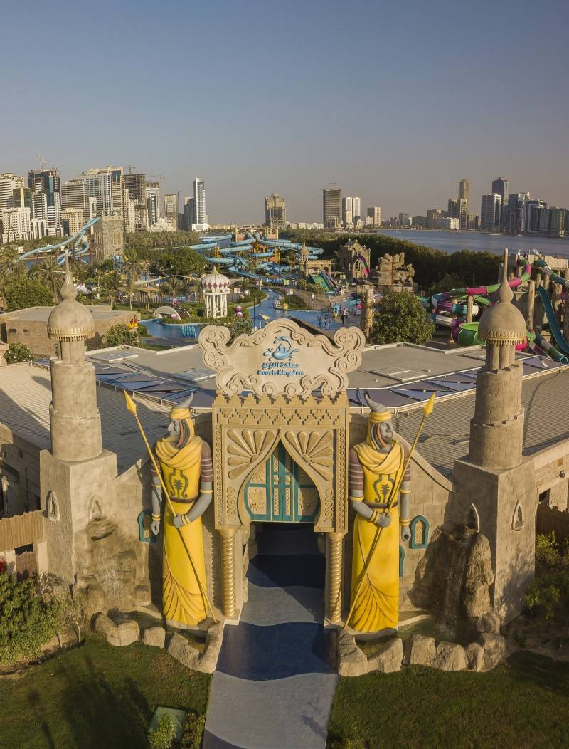 Sharjah's Al Montazah Park reopens 'Pearl Kingdom' with new slides and attractions
