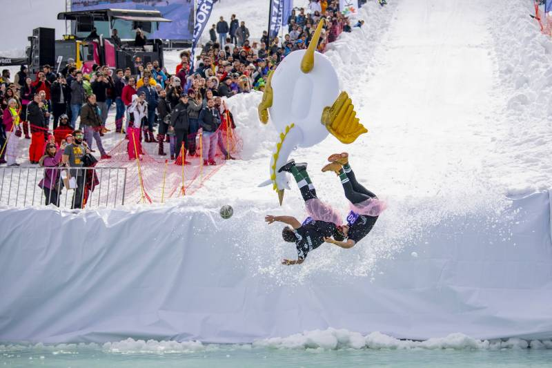 Ski Dubai to host world's first indoor edition of Red Bull Jump & Freeze in partnership with Dubai Sports Council