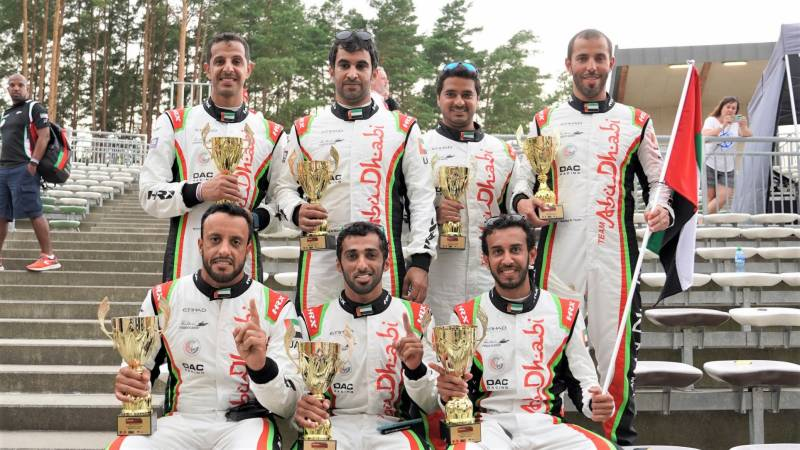 TEAM ABU DHABI CROWNED WORLD ENDURANCE CHAMPIONS FOR SECOND TIME IN A ROW