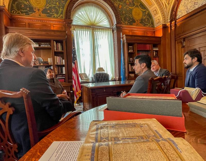 Sharjah Book Authority promotes Arab and Emirati culture to Library of Congress