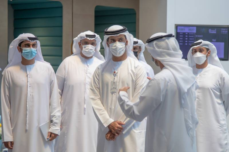 Undersecretary of Department of Community Development Meets Social Services Beneficiaries in Abu Dhabi at TAMM Service Centre