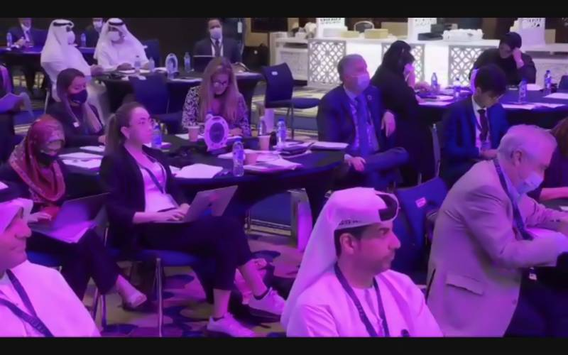 """In a speech to open the """"Think Tank Talent for the Future Forum"""", Zaki Nusseibeh states, """"The UAE has secured a reputation as a model for economic security, attractiveness to business, and social wellbeing."""""""