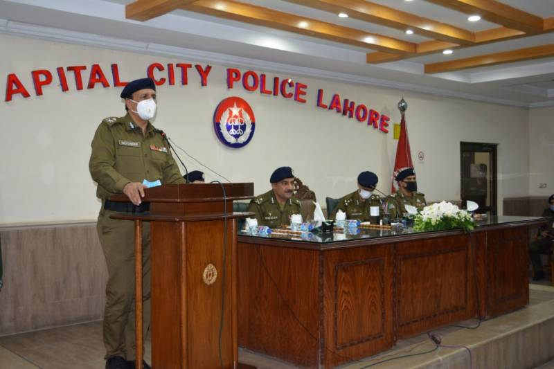 IG Punjab chaired a meeting on Operations and IT Branches, visited Software Development and Monitoring Room.
