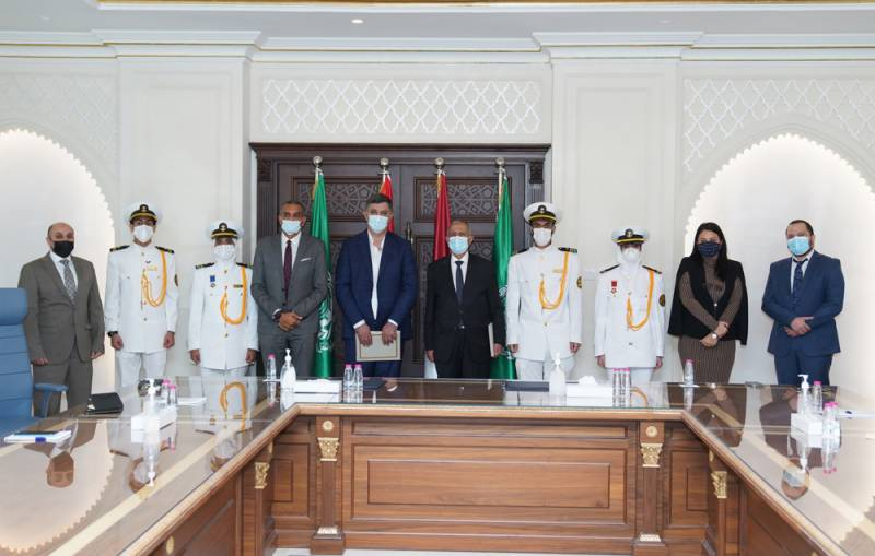 The Arab Academy for Science, Technology and Maritime Transport Sharjah Branch joins hands with Zakher Marine to train the Academy's students