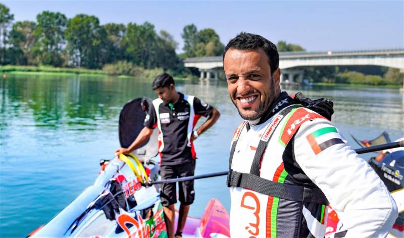 THANI GRABS THRILLING GRAND PRIX VICTORY ASTEAM ABU DHABI MAKE PERFECT START IN ITALY
