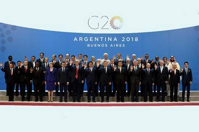 GLOBAL LEADERS ISSUE G20 CALL TO ACTION URGING IMMEDIATE PLEDGING CONFERENCE AND TASK FORCE TO CO-ORDINATE WORLD RESPONSE TO COVID-19