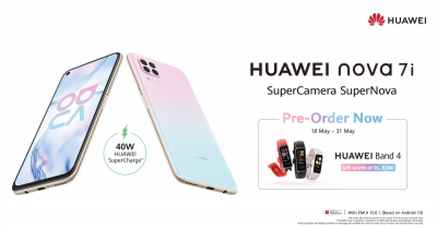 Huawei Opens Pre-orders for HUAWEI Nova 7i – Dominating its Price Segment with Unmatched Features