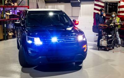 Packing Heat: How Ford's Latest Tech Helps US Police Vehicles Neutralize COVID-19