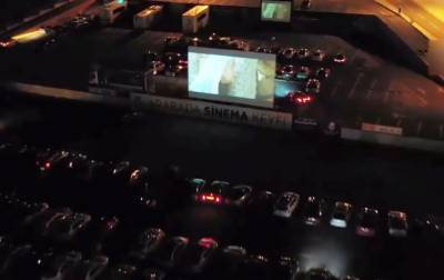 Drive-in cinemas became popular again in Turkey