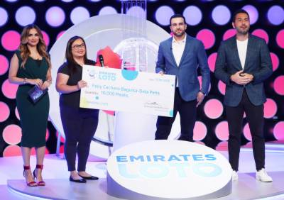 10,000 in need: Emirates Loto announces support of local Good Samaritan's initiative duringlive draw