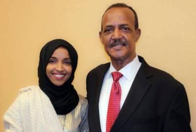 Ilhan Omar's father died because of Corona