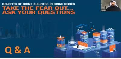 Ease of doing business, security drive foreign investors' interest in Dubai